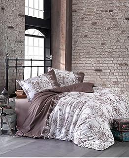Möbel & Wohnen Bettwäsche 240x220 Cm Mit 2x Kissenbezuge 80x80 Cm Verona V2 100% Baumwolle