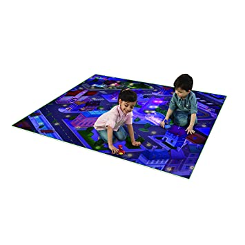 bbc7e490e6 Image Unavailable. Image not available for. Color: PJ Masks Jumbo Mega Mat  with Vehicle Playmat