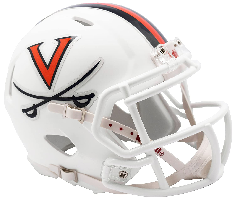 New in Box Virginia Cavaliers Riddell Speed Mini Football Helmet