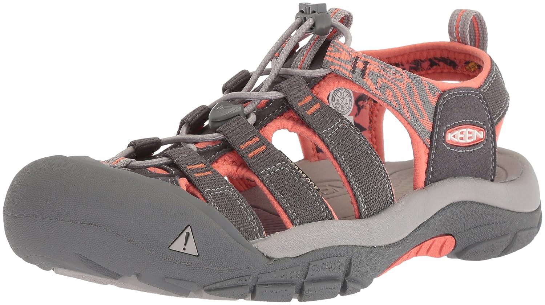 KEEN Women's Newport Hydro-W Sandal B071CVGXT4 6 B(M) US|Magnet/Coral