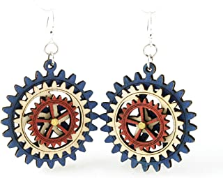 product image for Kinetic Gear Earring 4D
