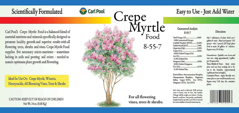 Crepe myrtle tree growth amazoncom crepe myrtle plant food 24oz 8557 crape myrtle nvjuhfo Choice Image