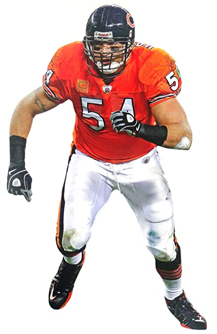 cc42bbd3 Amazon.com: FATHEAD Brian Urlacher Mini Chicago Bears Official NFL ...