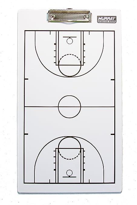Murray artículos Deportivos Pizarra Doble Cara Baloncesto ...