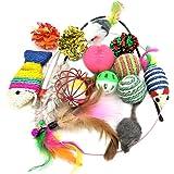 PietyPet 猫おもちゃ ペット玩具セット, い 13個入