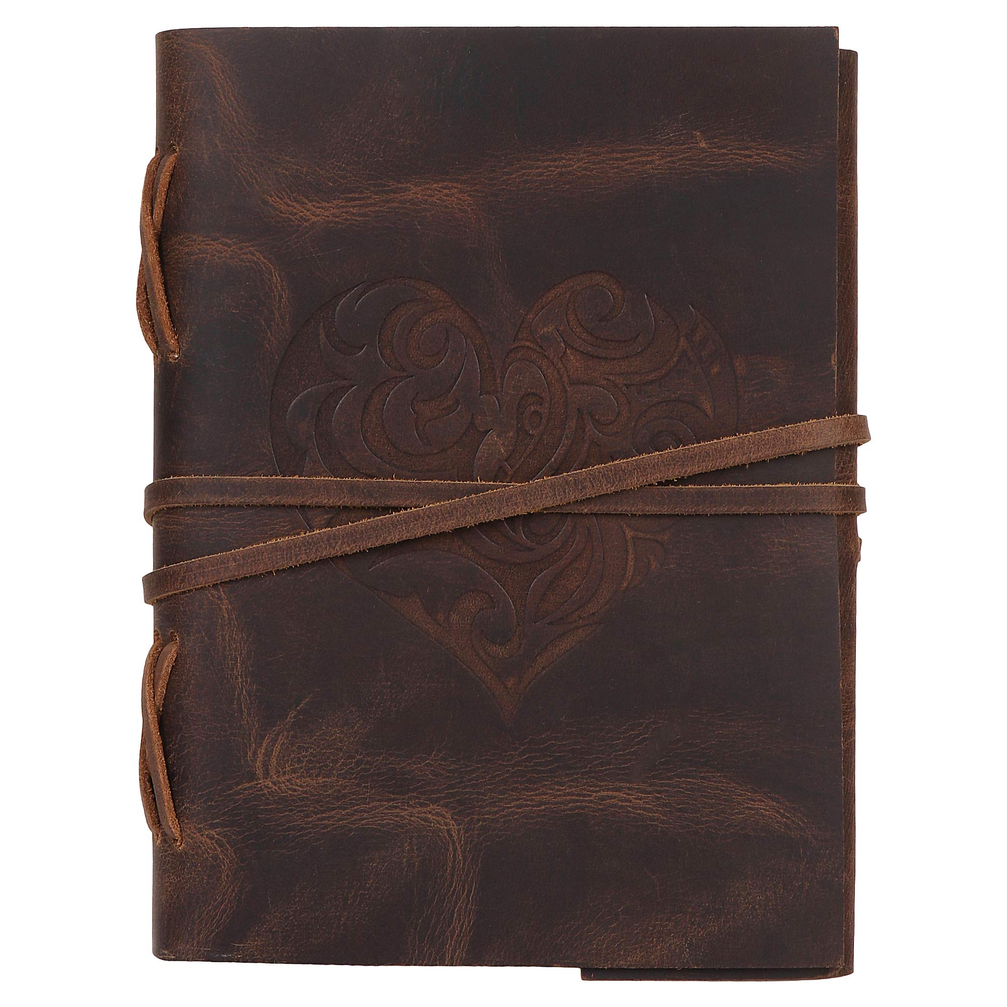 Beautiful leather bound journal