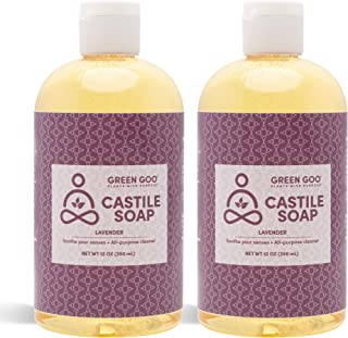 product image for Green Goo Natural Skin Care Castile Soap Wash, Lavender, 12-ounce Bottle, 2-pack
