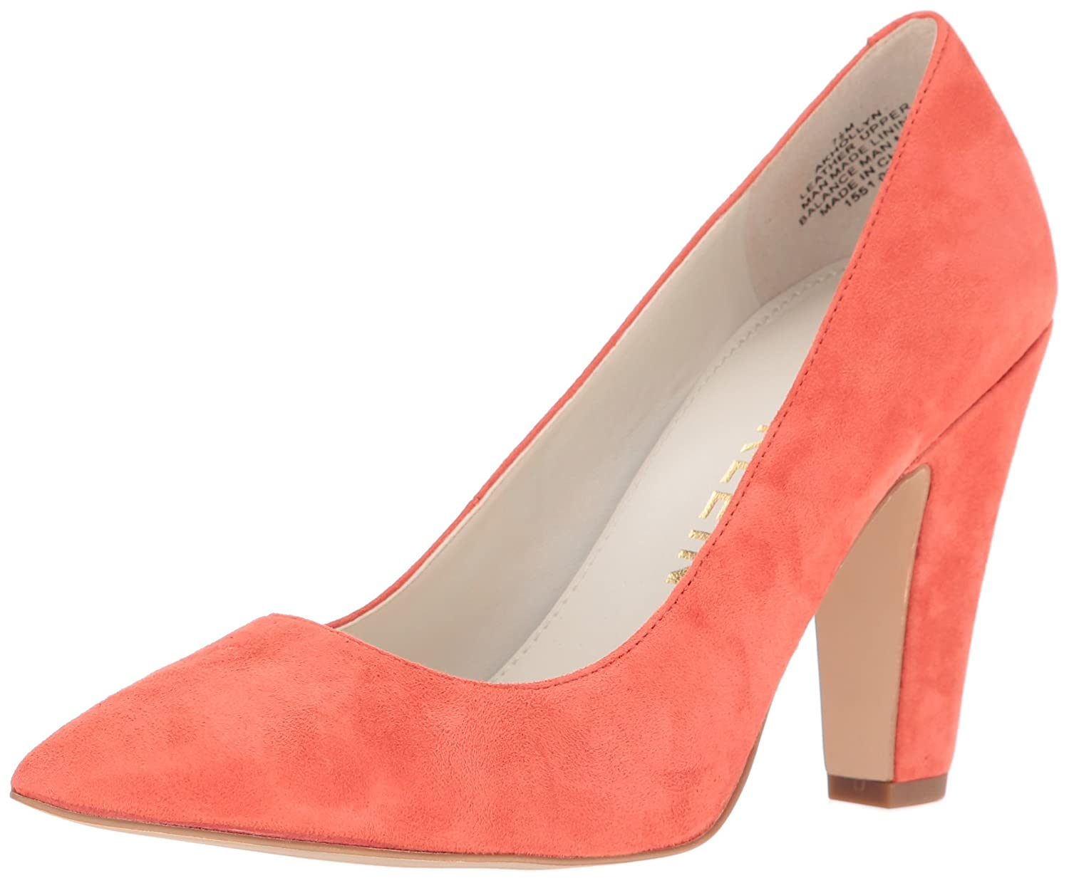 Anne Klein Women's Hollyn Suede Dress Pump B01KPAP61C 8 B(M) US|Orange