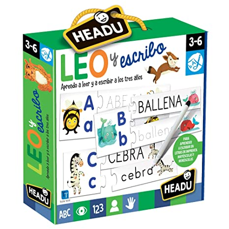 Amazon.com: HEADU Leo and School Educational Game - Multiple Colour (1041746): Toys & Games