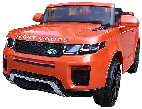 Evoque Ride On Jeep - Coche de 12 V con mando a distancia para padres (