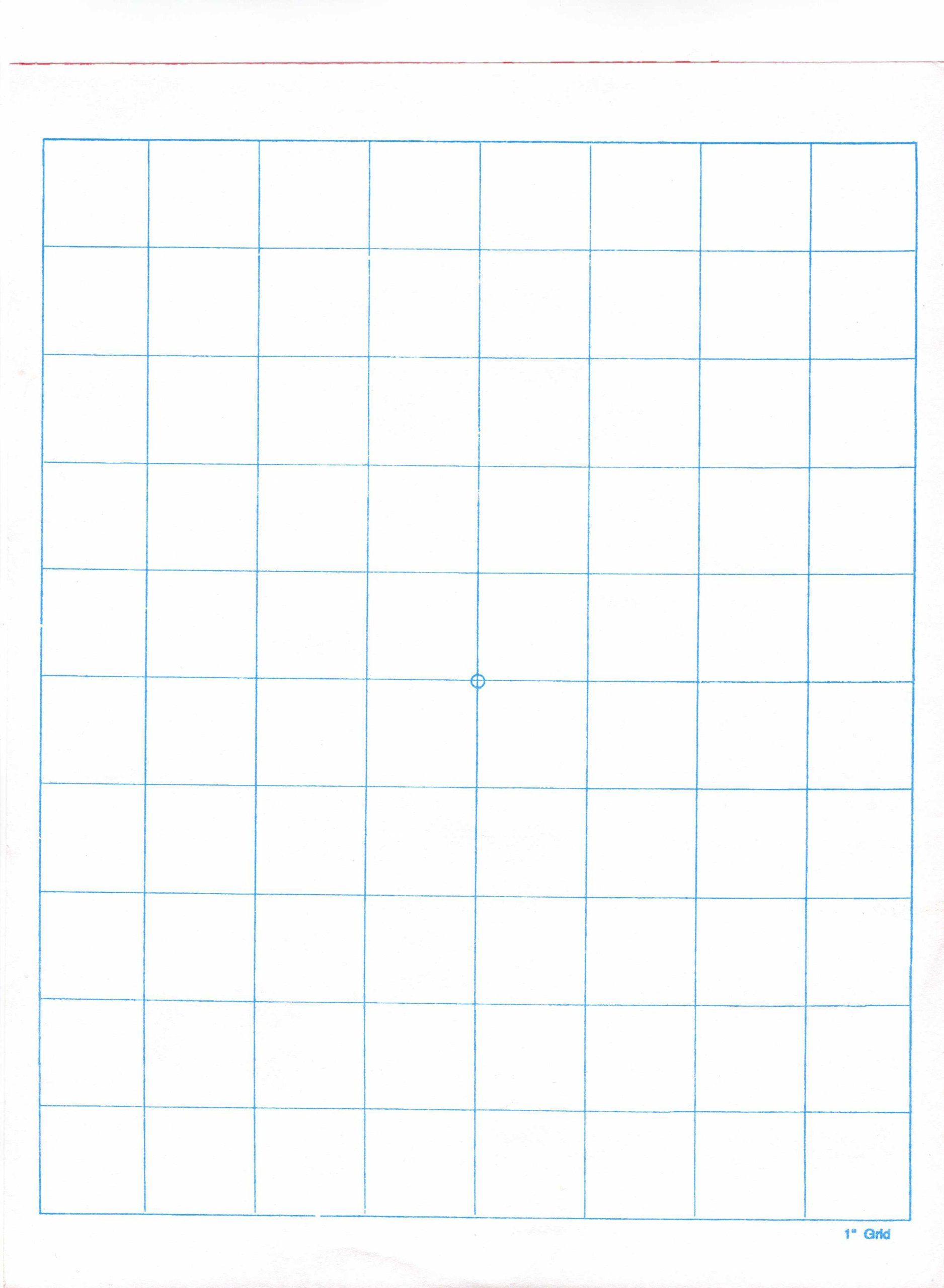 1'' Graph Paper Ream