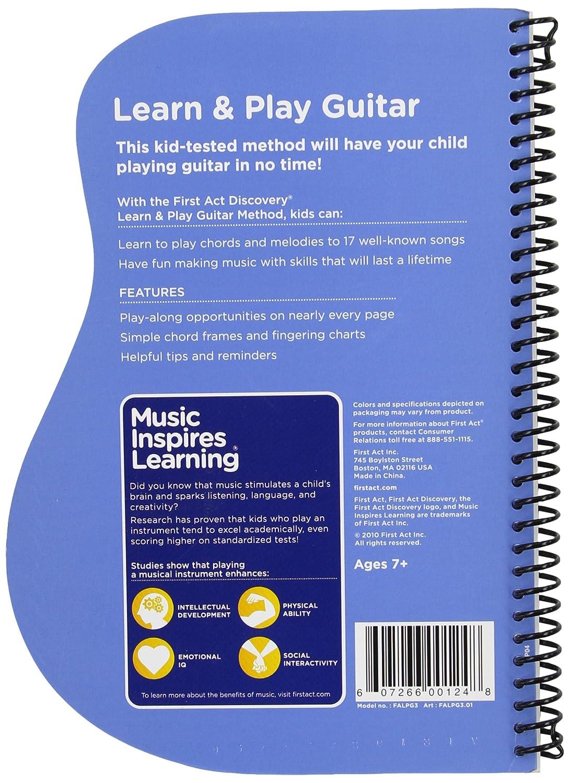 Amazon First Act Falpg3 Learn Play Guitar Book Musical