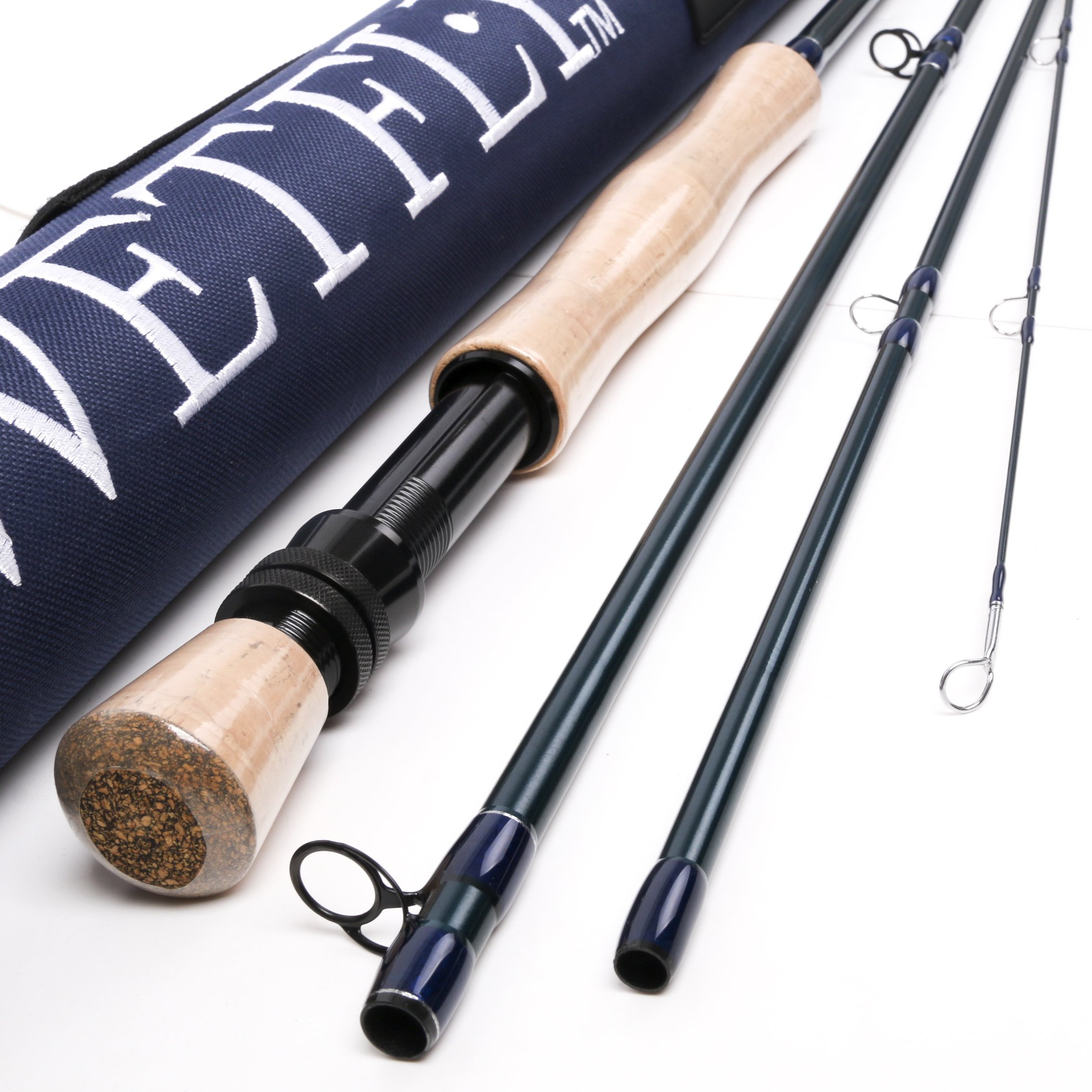 Wetfly Element2 4-piece Fly Fishing Rods (9' 7wt)