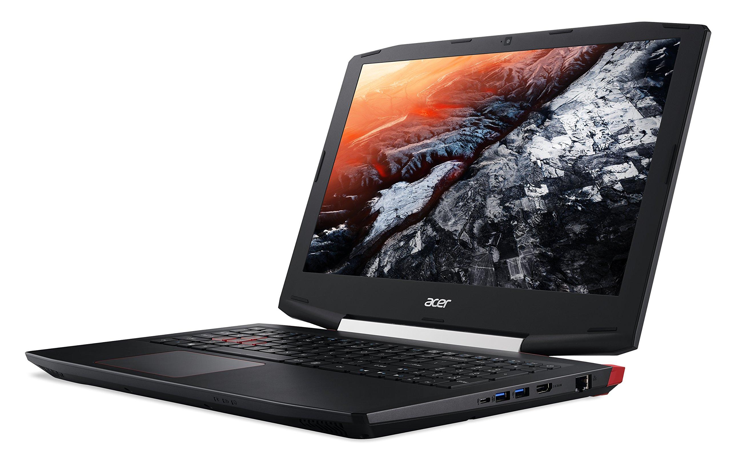 Acer Aspire VX 15 Gaming Laptop, 7th Gen Intel Core i7, NVIDIA GeForce GTX 1050 Ti, 15.6 Full HD, 16GB DDR4, 256GB SSD, VX5-591G-75RM by Acer (Image #2)