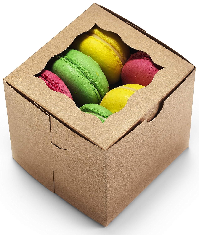 Bakery Boxes 4x4x4