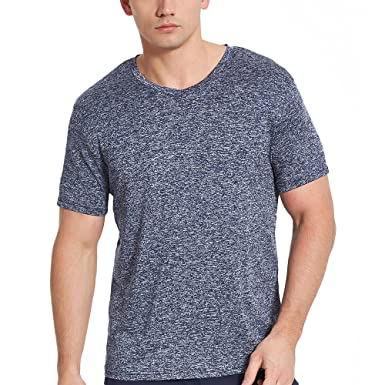 eaa46275 COVISS Men's Dry Fit Athletic T-Shirts, Short Sleeve V Neck Workout Tees,