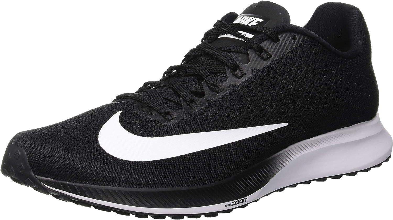 habilitar veterano incrementar  Nike Nike Air Zoom Elite 10, Men's Running Shoes, Black (Black/White/Volt  001), 7.5 UK (42 EU): Amazon.co.uk: Shoes & Bags