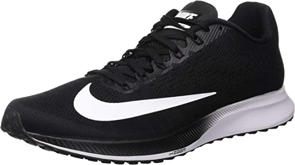 Nike Air Zoom Elite 10, Zapatillas de Running para Hombre, Negro (Black/White-Volt 001), 42 EU: Amazon.es: Zapatos y complementos
