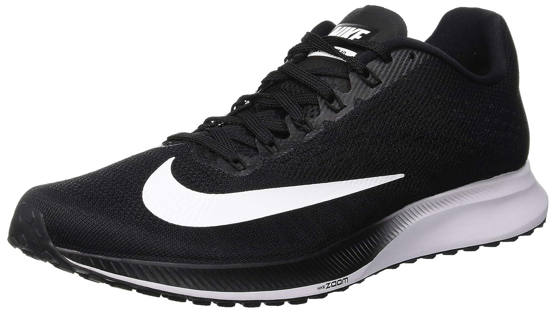 Nike Air Zoom Elite 10, Zapatillas de Running para Hombre 38.5 EU Negro (Black/White/Volt 001)