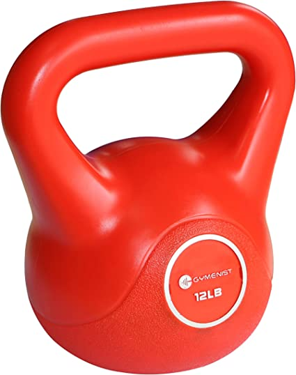 Kettlebell Weights 12Lb Workout Home Gym Exercise