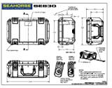 Seahorse Protective Equipment Cases SE830 Carry