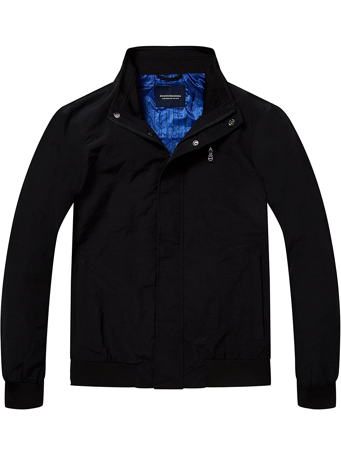 Scotch & Soda Men's Blauw Jacket, Black
