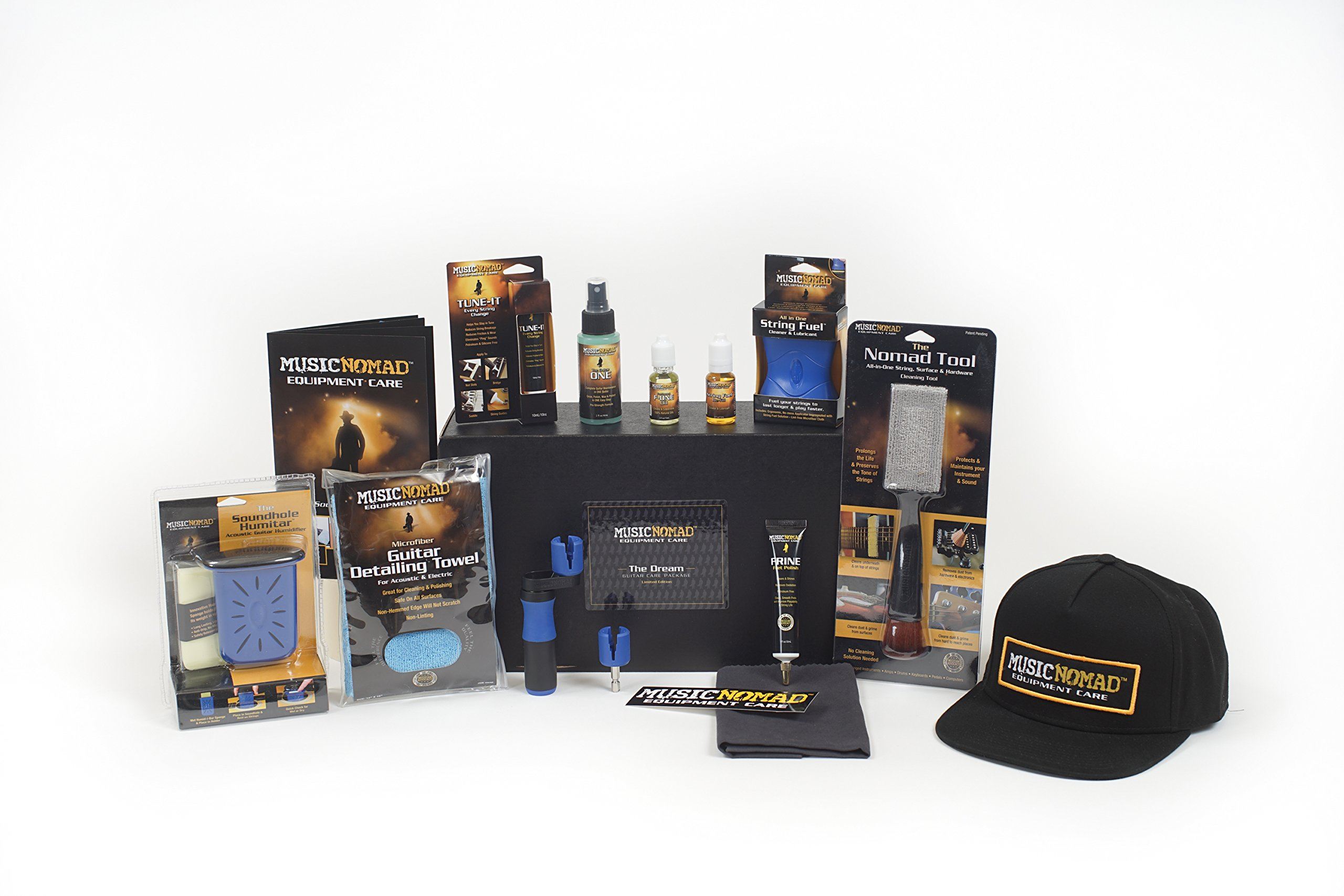 MusicNomad MN141 The Dream Guitar Care Pack (13-piece Kit)