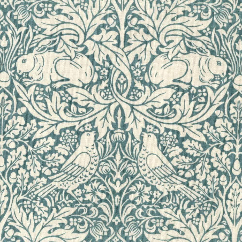 William Morris-Standen-Brer Conejo-Azul Marino