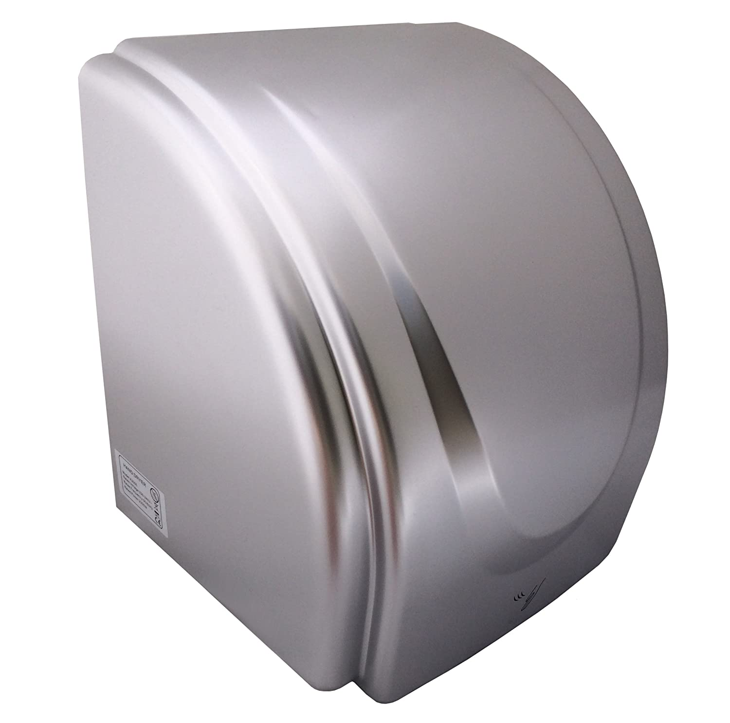 SILVER ABS Electric Hand Dryer Auto warm air Automatic drier T2300S 2300w Orka