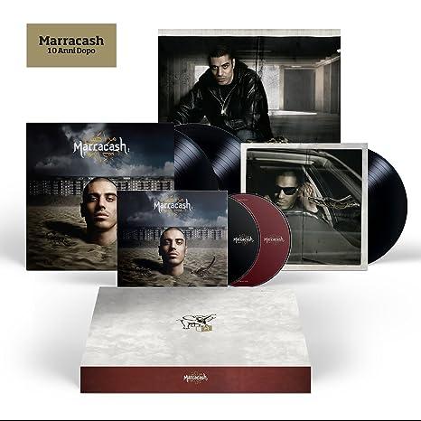 05f41fdf4a7ab4 Marracash - 10 Anni Dopo [Super Deluxe Box - 2 LP + 2 CD +