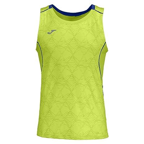 Joma Teamwear 100588 Tank Top sin Mangas Running Sportwear Uniformes Maglietta, Lime
