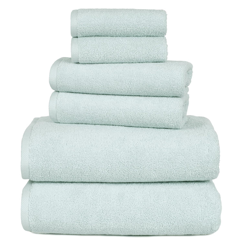 Amazon.com: 100 Percent Cotton Towel Set, Zero Twist, Soft and ...