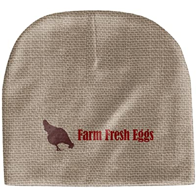 RNK Shops Farm Quotes Baby Hat (Beanie) (Personalized)