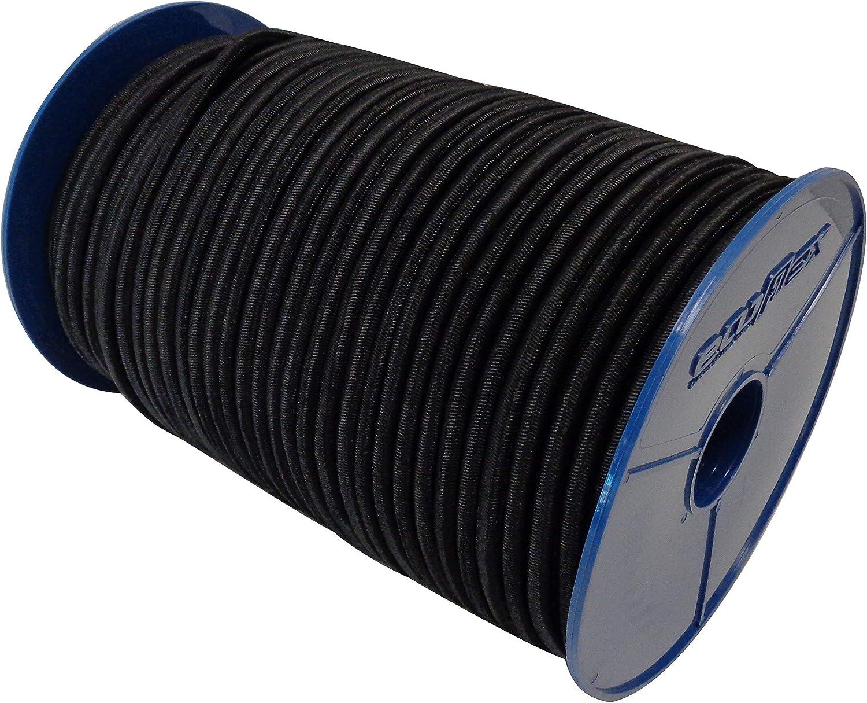 Cuerda extensora de goma de 10 mm, 10 - 100 m, para lonas de camiones, redes, acampada, cubiertas