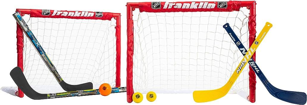 Small Multicolored Hudora Kids/' Street Hockey Set