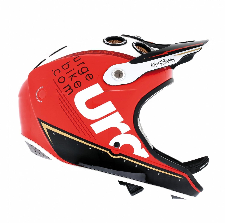 Urge - Casco de ciclismo BMX (Racing, con visera) , talla S: Amazon.es: Deportes y aire libre