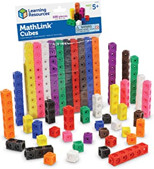 Learning Resources Child-safe MathLink Cube