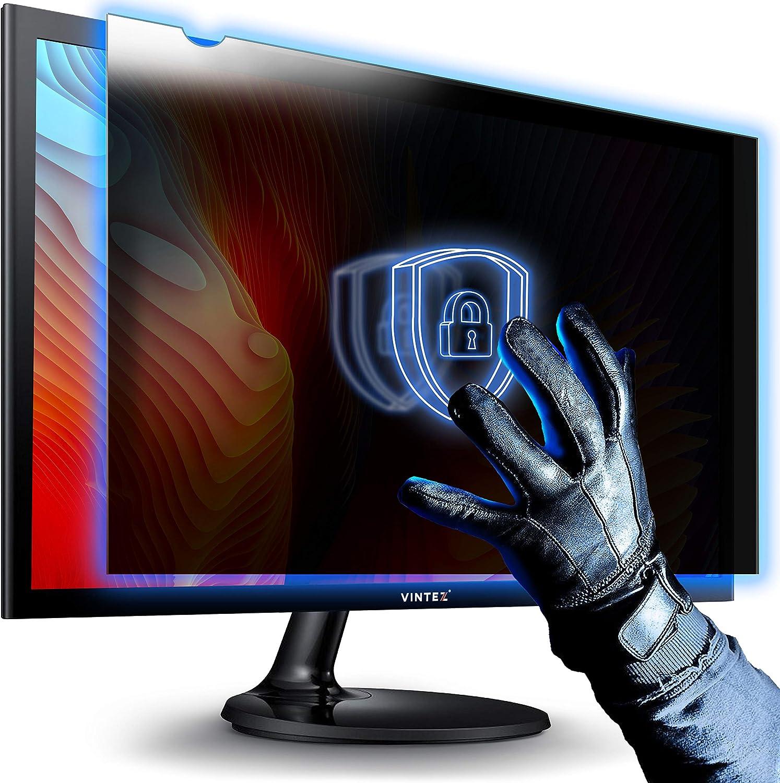 25 Inch - Computer Privacy Screen Filter - Anti-Scratch - Anti-Glare Protector for Widescreen Monitors - 16:9 Aspect Ratio - 21.8
