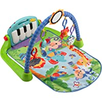 Fisher-Price Kick and Play Piano Multicolor
