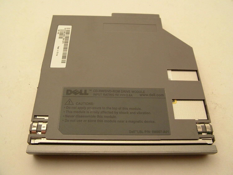 Dell CD-RW/DVD Drive Gray 8W007-A01 YC496 Latitude D830 D810 D820 D520 D531