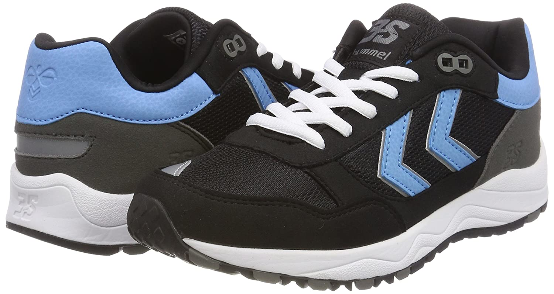 Hummel Unisex-Erwachsene 3-s Sport (schwarz) Sneaker Schwarz (schwarz) Sport d8af2b