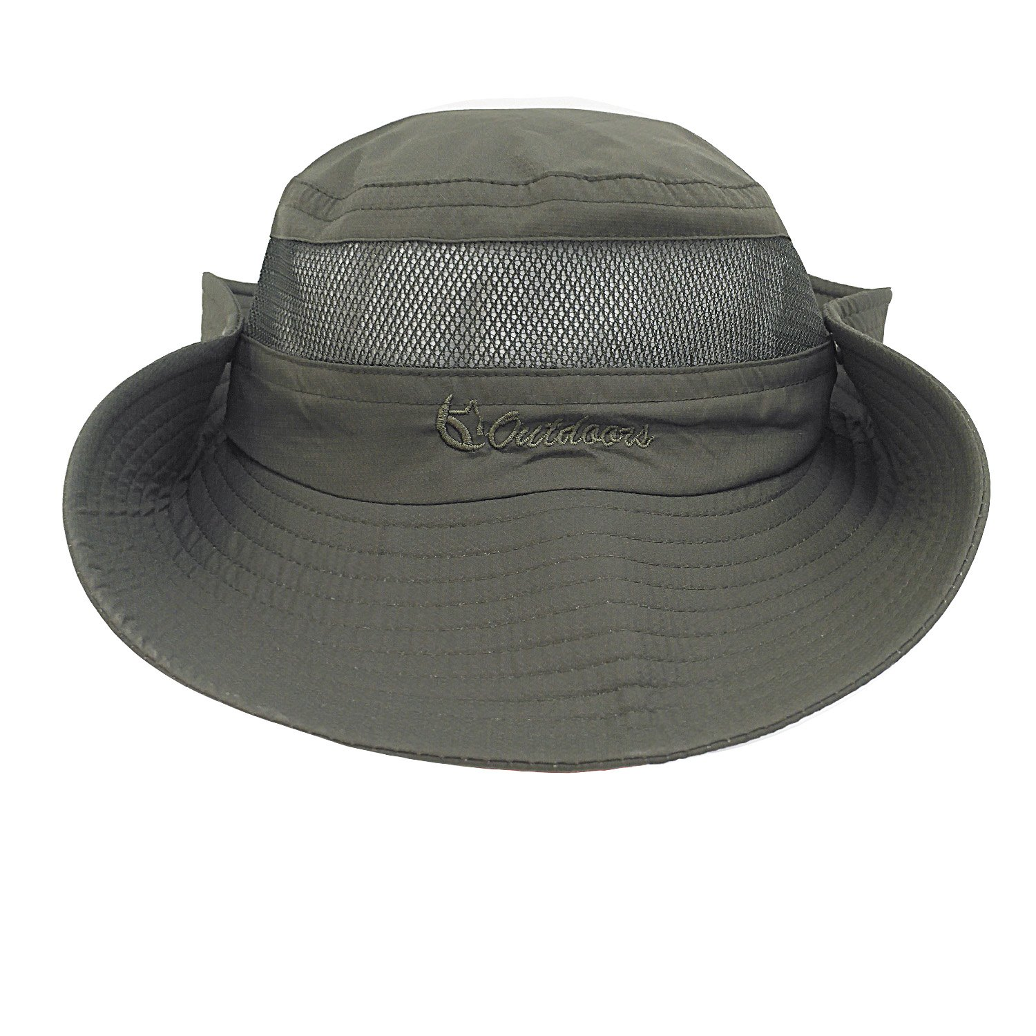 21c84dbe18a Senker unisex outdoor bucket mesh boonie fishing sun hat at amazon womens  clothing store jpg 1500x1500