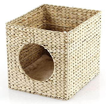 SwissPet gato cueva, apta para, por ejemplo IKEA® Kallax + Expedit. | Manta cueva para gatos: Amazon.es: Productos para mascotas