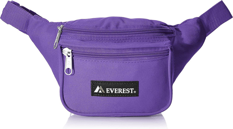 Everest Signature Waist Pack-Standard, Dark Purple, One Size