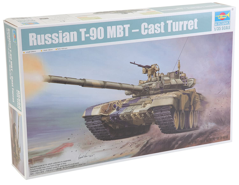 Trumpeter 05560 Modellbausatz Russian T-90A MBT - Cast Turret