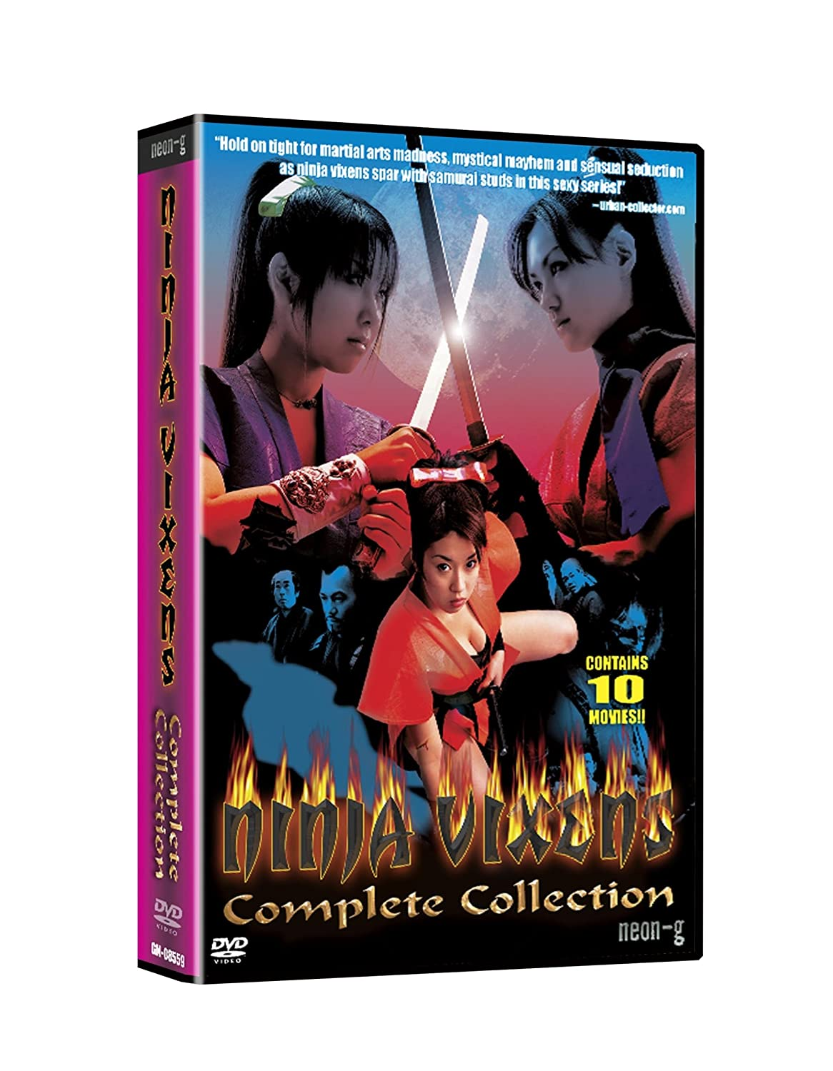 Ninja Vixens: Complete Box Set [USA] [DVD]: Amazon.es: Ninja ...
