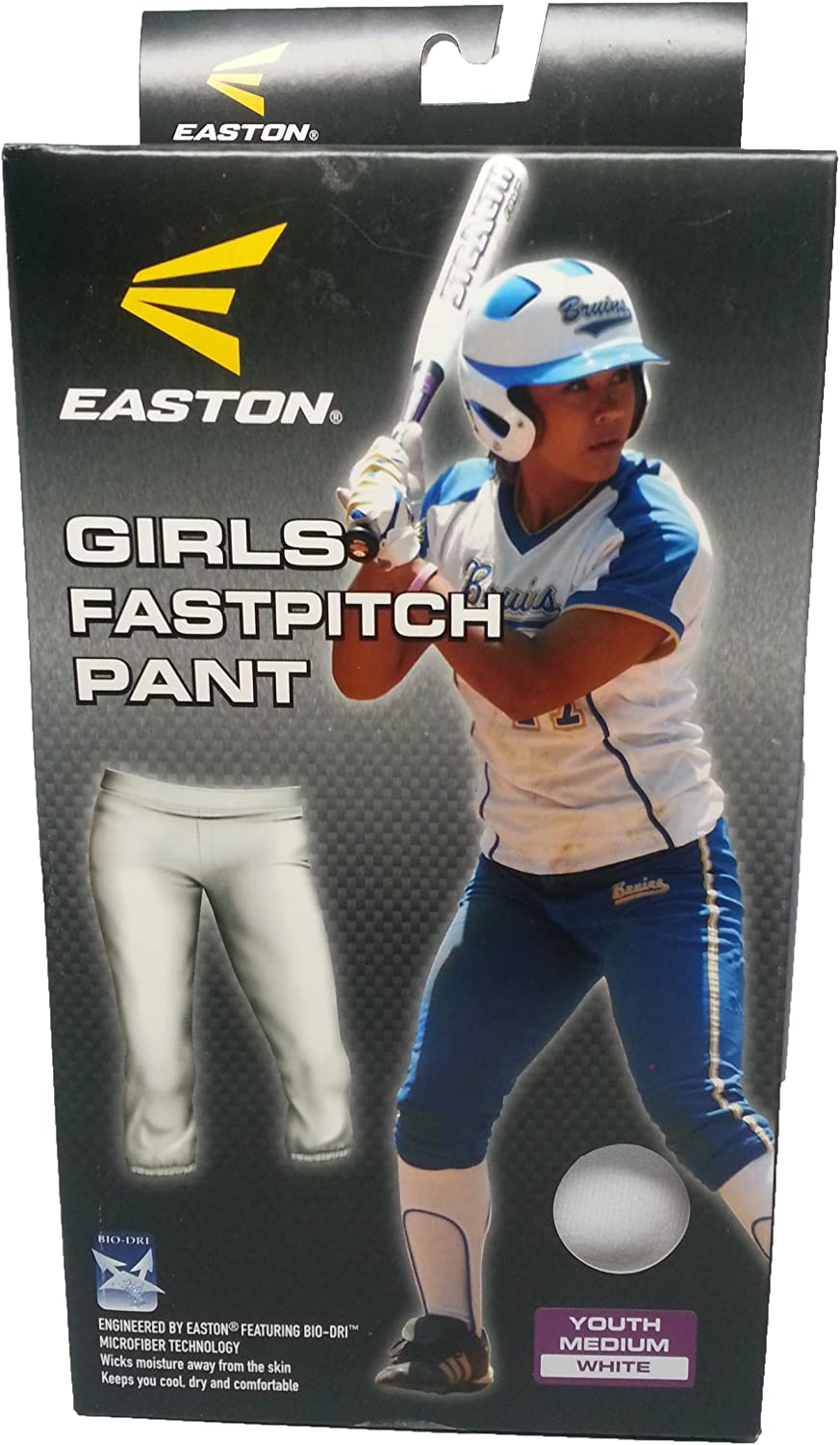2020 Low-Rise Waistband With Draw Cord EASTON ZONE Fastpitch Softball Pant 2020 Girls Sizing Sewn-Down Set-In Back Pockets Womens