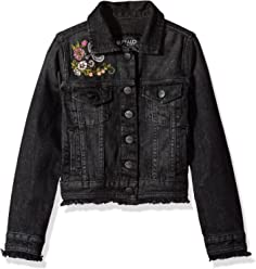 Buffalo David Bitton Girls Big Denim Jacket