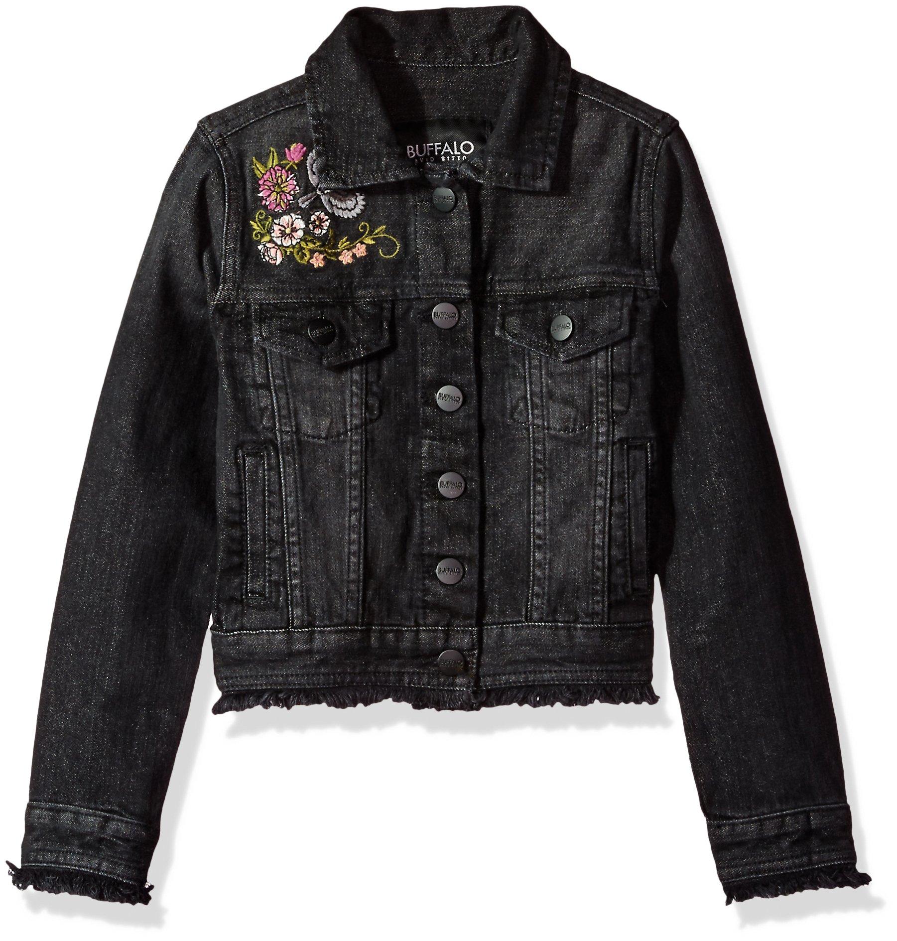 Buffalo by David Bitton Big Girls' Denim Jacket, Nova Hansel, Medium (8/10)