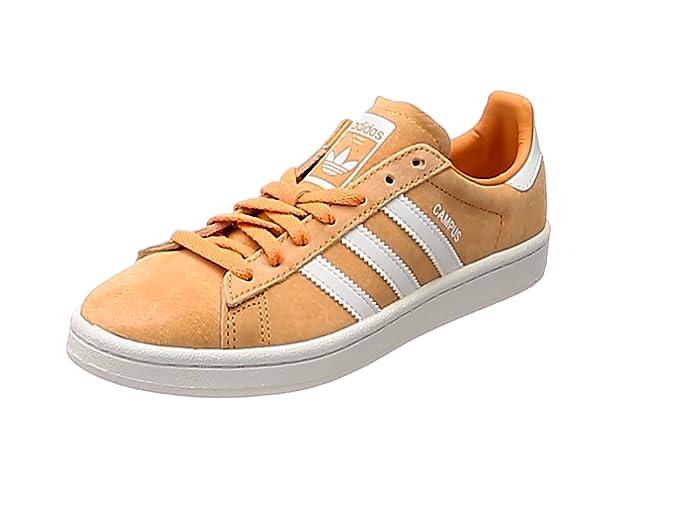 Adidas Campus Schuhe Herren Orange (Narsen) mit Weißen Streifen